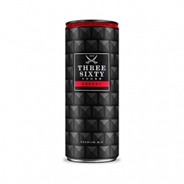 12 Dosen a 0,33l Three Sixty Vodka Energy 10% vol. inkl. 12 * 0,25€ EINWEG PFAND - 1
