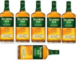 6 Flaschen Tullamore Dew irish Whiskey a 700ml (6x0.7l) 40% Vol. - 1