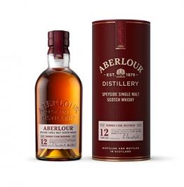 Aberlour 12 Jahre Highland Single Malt Scotch Whisky / Double Cask Matured Scotch Single Malt Whisky / 1 x 0,7 L - 1