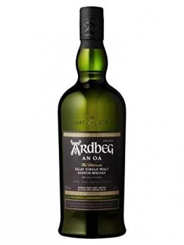 Ardbeg AN OA Islay Single Malt Scotch Whisky 46,6% Volume in Geschenkbox, 1l - 1