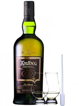 Ardbeg Corryvreckan Islay Single Malt Whisky 0,7 Liter + 2 Glencairn Gläser und Eingewpipette - 1