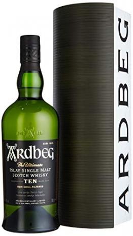 Ardbeg TEN Warehouse Edition mit Geschenkverpackung Whisky (1 x 0.7 l) - 1