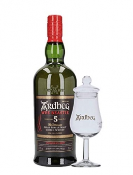Ardbeg Wee Beastie Islay Single Malt Scotch Whisky 5 Jahre + 1 Glas - 1
