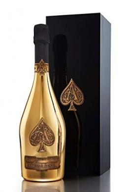 Armand De Brignac Ace of Spades Gold Brut NV Champagne 75cl Bottle - 1