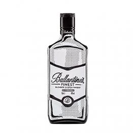 Ballantines Finest Blended Scotch Whisky – Milder Blend aus schottischen Malt & Grain Whiskys – Mit zartem Geschmack, ausgereiftem Aroma & frischem Abgang – 1 x 0,7 L - 1