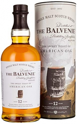Balvenie The 12 Years Old The Sweet Toast of AMERICAN OAK Whisky (1 x 0.7 L) - 1