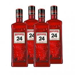 Beefeater Gin 24 4er Set, London Dry Gin, Schnaps, Spirituose, Alkohol, Flasche, 45%, 4 x 700 ml - 1