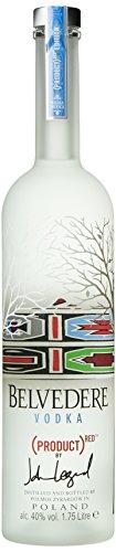 Belvedere Vodka RED Limited Edition by Esther Mahlangu 40% Vol. 1,75 l - 1