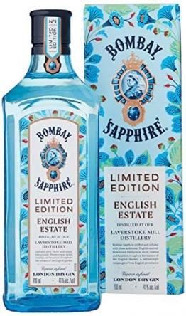 Bombay Sapphire Gin English Estate Limited Edition (1 x 0,7 l) - 1