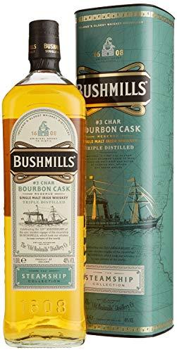 Bushmills Char Bourbon Cask Reserve The Steamship Collection mit Geschenkverpackung Whisky (1 x 1 l) - 1