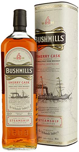 Bushmills Sherry Cask Reserve The Steamship Collection mit Geschenkverpackung (1 x 1 l) - 1