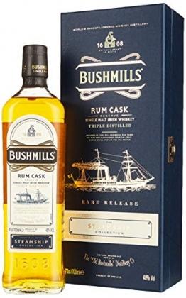 Bushmills Steamship Collection Rum Cask Reserve Triple Distilled Rare Release -GB- Single Malt Whisky (1 x 0.7 l) - 1