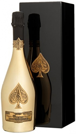 CattierArmanddeBrignac GoldChardonnay Brut Champagner(1 x 0.75 l) - 1