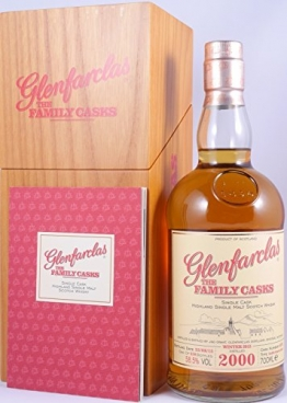 Glenfarclas 2000 14 Years The Family Casks Refill Sherry Butt Cask 4075 Highland Single Malt Scotch Whisky Cask Strength 58,5% - one of 650 bottles - 1