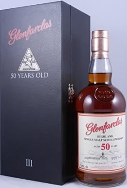 Glenfarclas 50 Years Old 3. Edition Olosoro Sherry Cask Single Malt Scotch Whisky aus der limited Six Generations Serie - eine auf weltweit 937 Flaschen limitierte Version eines ganz besonderen Spitzenwhiskys - 1