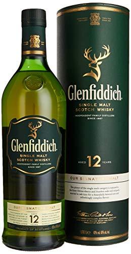 Glenfiddich 12 Jahre Single Malt Whisky (1 x 1 l) - 1