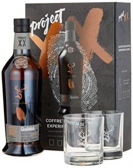 Glenfiddich Project XX mit Geschenkverpackung mit 2 Gläsern und schwarzem Salz (1 x 0.7 l) - 1