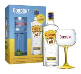 Gordon's LDG mit Copa-Glas Gin (1 x 70 cl) - 1