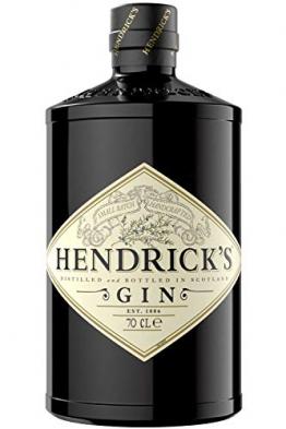 Hendrick's Gin - der einzigartige Gin mit Gurken und Rosenblattessenzen, 44% Vol., 700ml - 1