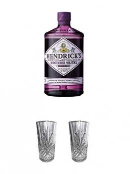 Hendricks Gin Midsummer Solstice Limited Release 0,7 Liter + Hendricks Highball Gin Glas + Hendricks Highball Gin Glas - 1