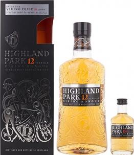 Highland Park 12 Jahre VIKING HONOUR mit Geschenkverpackung und 18 Years Old Whisky (1 x 0.7 l) - 1