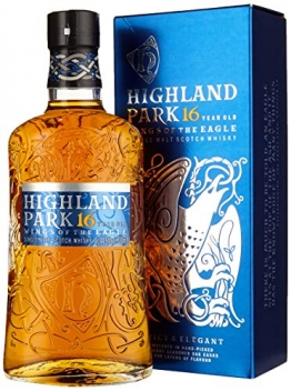 Highland Park 16 Years Wings Of The Eagle + GB Single Malt Whisky (1 x 700 ml) - 1