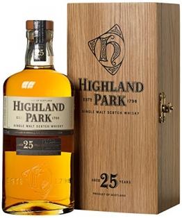 Highland Park 25 Jahre Single Malt Scotch Whisky (1 x 0.7 l) - 1