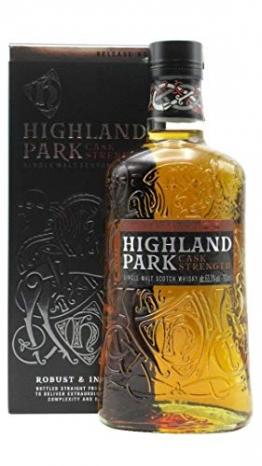 Highland Park CASK STRENGTH Single Malt Scotch Whisky Release 1 63,3% Volume 0,7l in Geschenkbox Whisky - 1