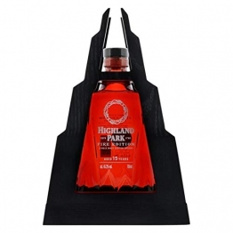 Highland Park FIRE Edition 15 Years Old Whisky mit Geschenkverpackung (1 x 0.7 l) - 1