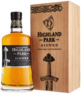 Highland Park Sigurd Warriors Edition in Holzkiste Whisky (1 x 0.7 l) - 1
