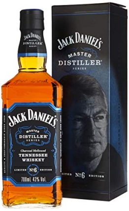 Jack Daniel's Tennessee Whiskey - 43% Vol. - Master Distiller Serie No. 6 - limited Edition - 1