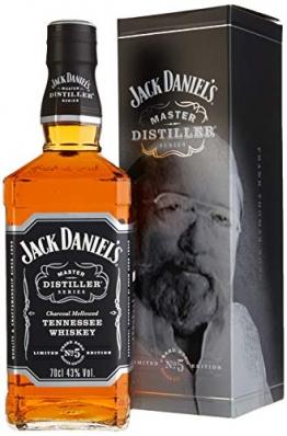 Jack Daniels Tennessee Whisky - 43% Vol. - Master Distiller Serie Nr. 5 - Bourbon in limitierter Auflage (1 x 70 cl) - 1