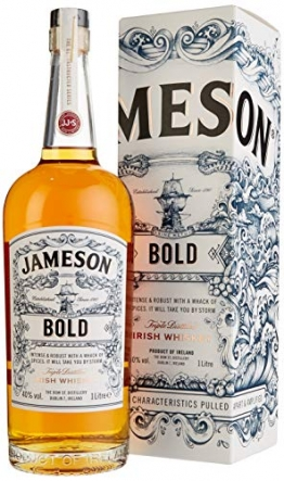 Jameson BOLD The Deconstructed Series Irish Whisky mit Geschenkverpackung (1 x 1 l) - 1