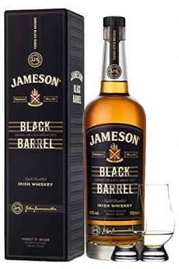 Jameson Select Reserve Black Barrel Small Batch 0,7 Liter+ 2 Glencairn Gläser - 1