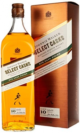 Johnnie Walker 10 Years Old SELECT CASKS Rye Cask Finish Whisky (1 x 1 l) - 1