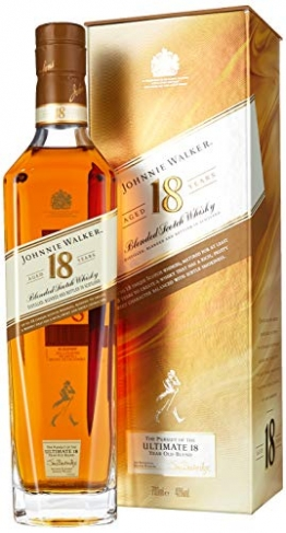 Johnnie Walker 18YO Blended Scotch Whisky, 70 cl - 1