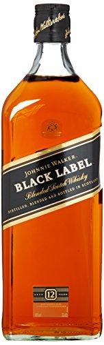 Johnnie Walker Black Label Scotch 12 Years Old Whisky (1 x 3 l) - 1