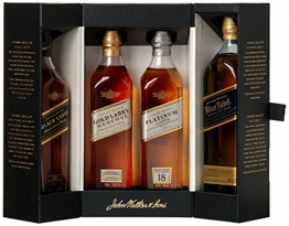 Johnnie Walker Collection Pack Blended Scotch Whisky (4 x 0.2 l) - 1