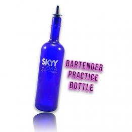 "Kunststoffflasche, Design ""Skyy Vodka"" - 1"