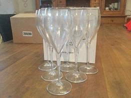 Laurent Perrier 6 Champagnerglas - 1