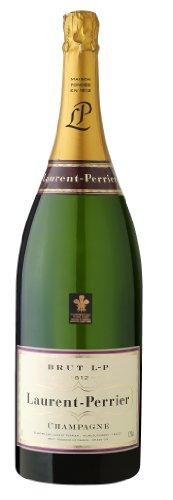 Laurent Perrier Champagner Brut Jeroboam 12% 3,0l Großflasche in Holzkiste - 1