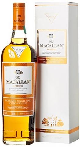 Macallan Amber Highland Single Malt Whisky (1 x 0.7 l) - 1