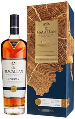 Macallan ENIGMA Highland Single Malt Scotch Whisky mit Geschenkverpackung (1 x 0.7 l) - 1