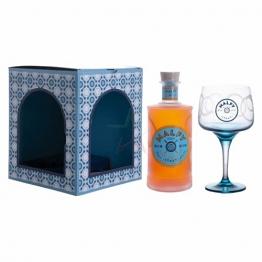Malfy Gin CON ARANCIA Sicilian Blood Orange mit Glas 41,00% 0,70 lt. - 1