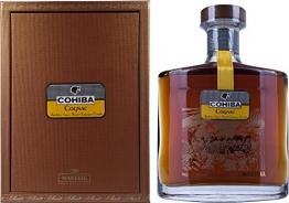 Martell Cohiba Grande Champagne mit Geschenkverpackung Cognac (1 x 0.7 l) - 1