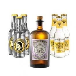 Monkey 47 Gin (1 x 0.5 l) mit Thomas Henry Tonic (3 x 0.2 l) und Fever Tree Tonic (3 x 0.2 l) inc. 0.90€ MEHRWEG Pfand - 1