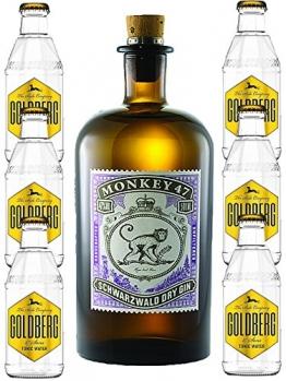 Monkey 47 Gin & 6 x Goldberg 0,2 Tonic Set - 1