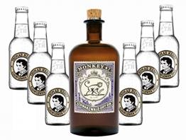 Monkey 47 Schwarzwald Dry Gin & 6 x Thomas Henry Tonic Water 0,2 Liter - 1