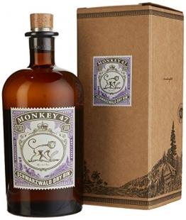 Monkey 47 schwarzwald Dry Gin mit Geschenkverpackung (1 x 0.5 l) - 1