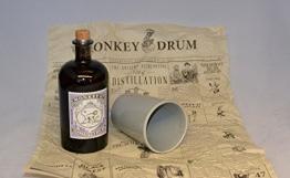 Monkey 47 Schwarzwald Dry Gin + original Krug Becher und Verpackung - 1